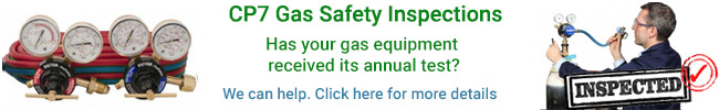 Rapid Gases can test all your gas equipment